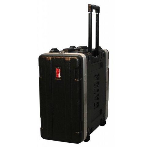Gator GRR-4L 4U Audio Rack; Rolling