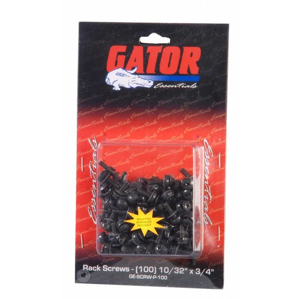 Gator Gator GRW-SCRW025 Rack Screws - 25 Pack