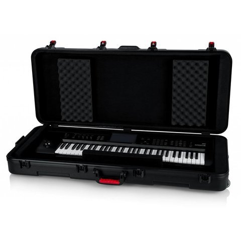 Gator GTSA-KEY61 TSA ATA Molded 61-note Keyboard Case w/ Wheels