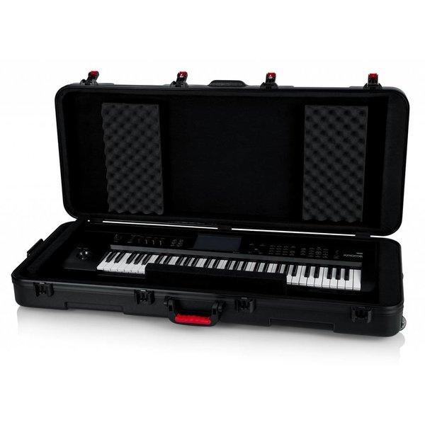Gator Gator GTSA-KEY61 TSA ATA Molded 61-note Keyboard Case w/ Wheels