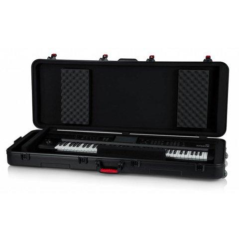 Gator GTSA-KEY76 TSA ATA Molded 76-note Keyboard Case w/ Wheels