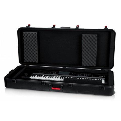Gator GTSA-KEY76D TSA ATA Deep 76-note Keyboard Case w/ Wheels