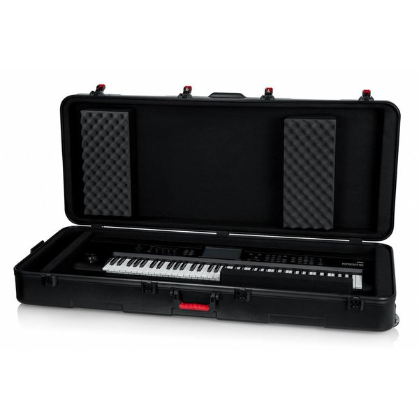 Gator Gator GTSA-KEY76D TSA ATA Deep 76-note Keyboard Case w/ Wheels