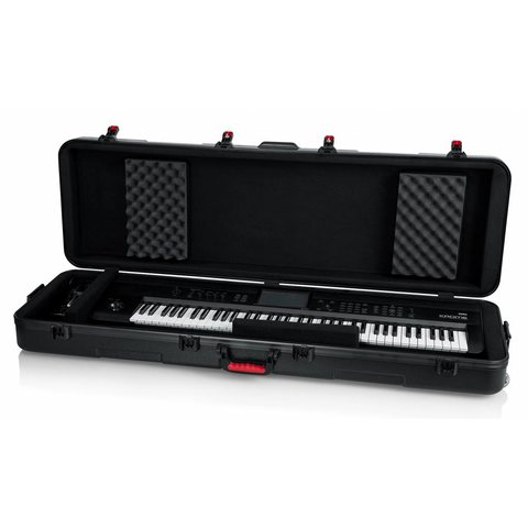 Gator GTSA-KEY88SL TSA ATA Slim 88-note Keyboard Case w/ Wheels