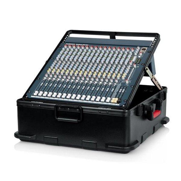 Gator Gator GTSA-MIX12PU ATA TSA Molded Pop Up Mixer Case; 12U