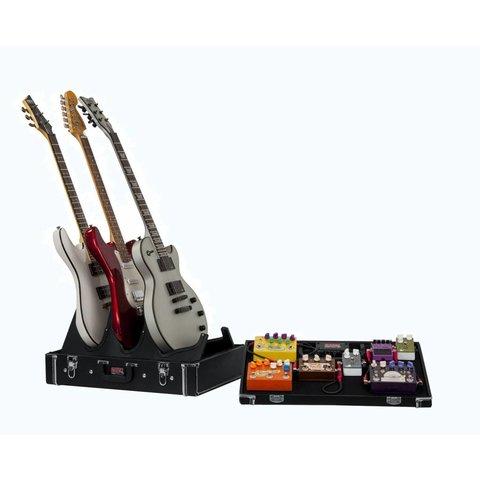 Gator GW-GIGBOXJR Gig-Box Jr. Pedal Board/Guitar Stand Case