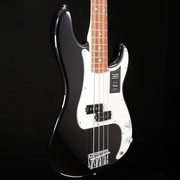 Fender Fender Player Precision Bass, Pau Ferro Fb, Black used 064 8lbs 9.7oz