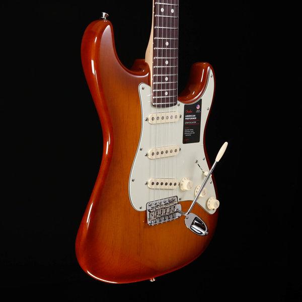 Fender Fender American Performer Strat, Rosewood, Honey Burst used 501 7lbs 12.9oz