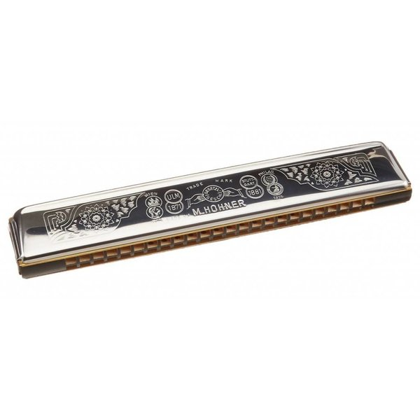 Hohner Hohner 2509-C Echo 48 Tremolo Harmonica (24 Hole Tremolo); Key of C