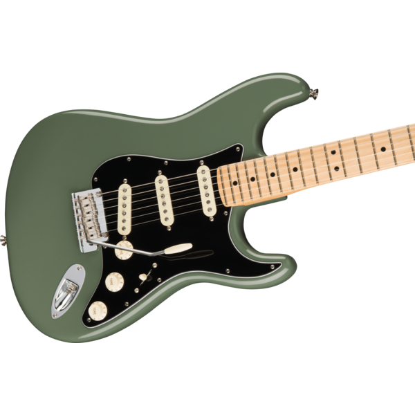 Fender Fender American Pro Stratocaster, Maple Fb, Antique Olive