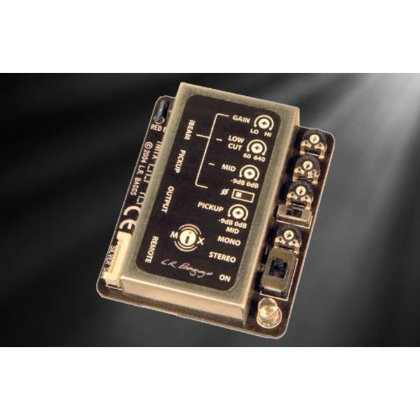 LR Baggs LR Baggs Imix Internal Preamp/Mixer w/ Element & iBeam Pickups / Rem Control II
