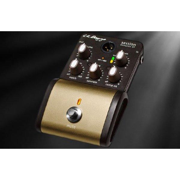 LR Baggs LR Baggs Session DI Acoustic DI w/ Analog Saturation & Multiband Compression/EQ