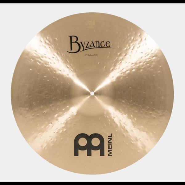 """Meinl Cymbals Meinl Byzance B22MR Traditional 22"""" Medium Ride"""