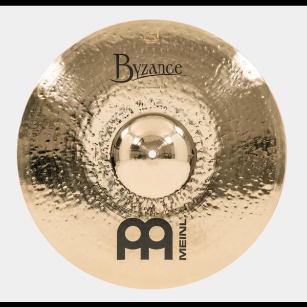 "Meinl Cymbals Meinl B18HHC-BD 18"" Heavy Hammered Crash, Brilliant"