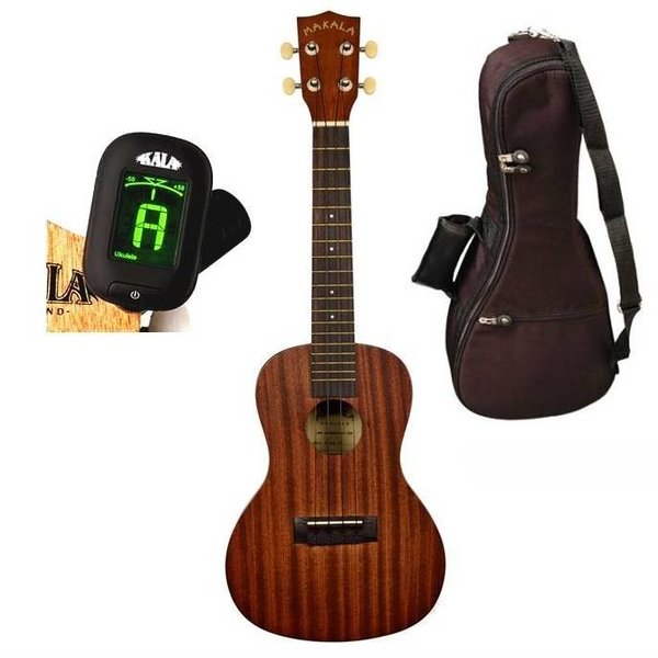 Makala Makala MK-C/PACK Contains: Makala Concert Ukulele, Bag, Tuner, and Instructions