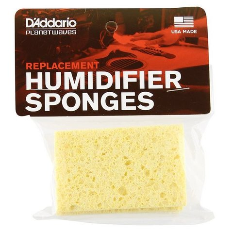 Planet Waves Acoustic Guitar Humidifier Replacement Sponges, 3 Pack