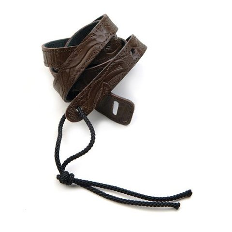Planet Waves Classic Leather Banjo Strap, Brown