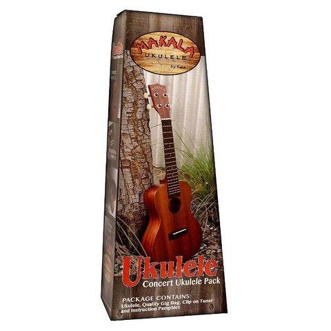 Makala MK-S/PACK Contains: Makala Soprano Ukulele, Bag, Tuner, and Instructions