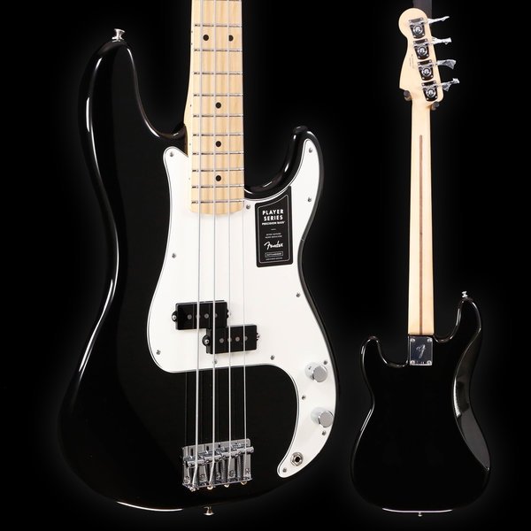 Fender Fender Player Precision Bass, Maple Fb, Black 147 7lbs 14.5oz