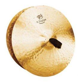 """Zildjian Zildjian K1000 18"""" Pair K Const. Orchestral Med. Light W/Pads"""