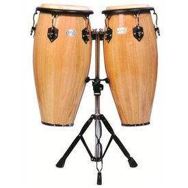Toca Toca Player's Series Wood Conga Set Natural