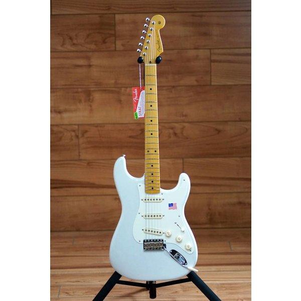 Fender Eric Johnson Stratocaster, Maple Fingerboard, White Blonde