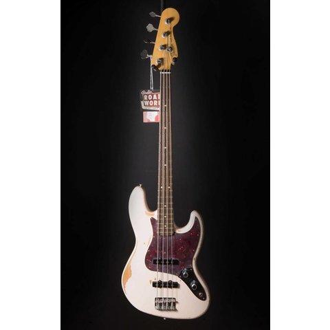 Flea Jazz Bass, Rosewood Fingerboard, Roadworn Shell Pink