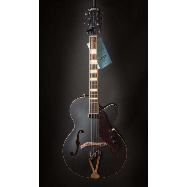 Gretsch Guitars Gretsch G100BKCE Synchromatic Archtop Cutaway, Rosewood Fingerboard, Flat Black