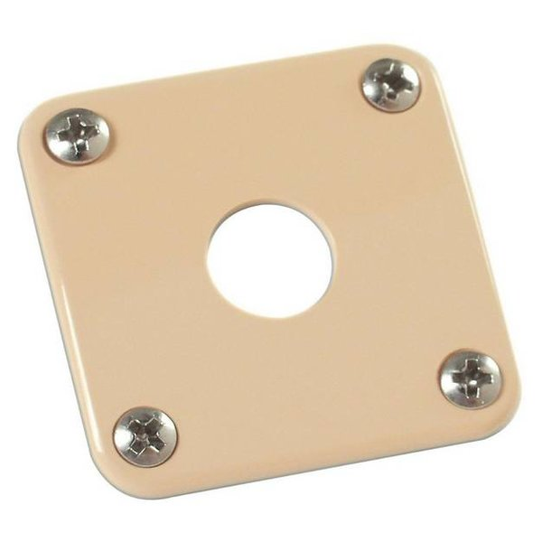 Gibson Gibson PRJP-030 Jack Plate Creme Plastic