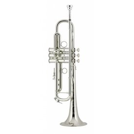 Bach Bach LR190S43BW3 Stradivarius Professional Bb Trumpet, Silver Plated w/ Case