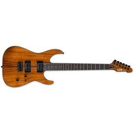 LTD ESP LTD M-1000 Natural Koa Electric Guitar