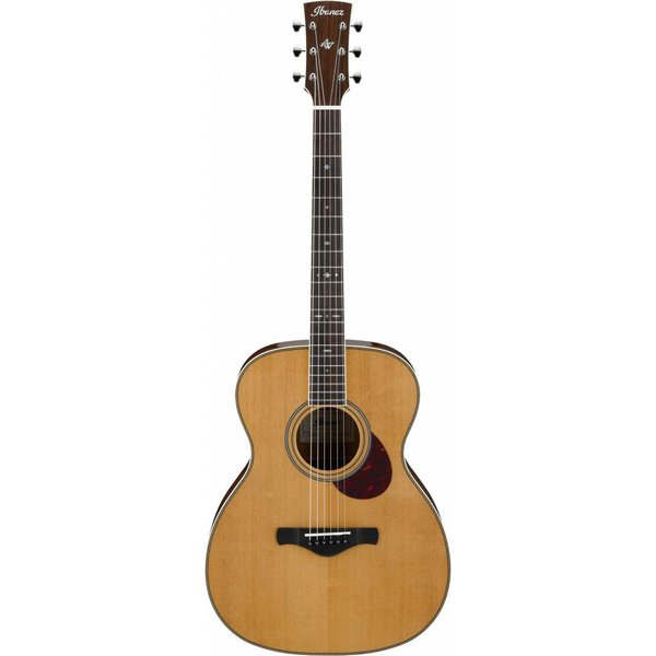 Ibanez Ibanez AVM10NT Artwood Vintage Thermo Aged OM Acoustic Guitar - Natural Gloss