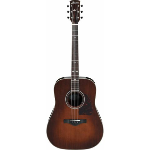 Ibanez AVD10BVS Artwood Thermo Aged Dreadnought Acoustic Brown Vintage Sunburst