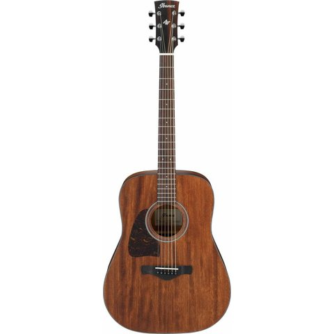 Ibanez AW54LOPN Artwood Dreadnought Acoustic Guitar Lefty - Open Pore Natural