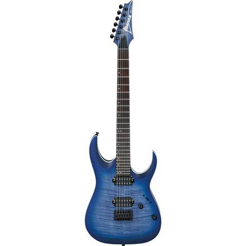 Ibanez RGA42FMBLF RGA Standard 6str Electric Guitar - Blue Lagoon Burst Flat