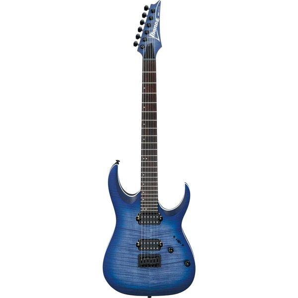 Ibanez Ibanez RGA42FMBLF RGA Standard 6str Electric Guitar - Blue Lagoon Burst Flat