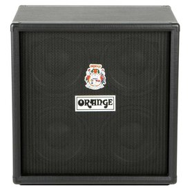Orange Orange OBC410 Black 4X10 Eminence 10'' speakers attenuated horn 8 ohms 600 watts