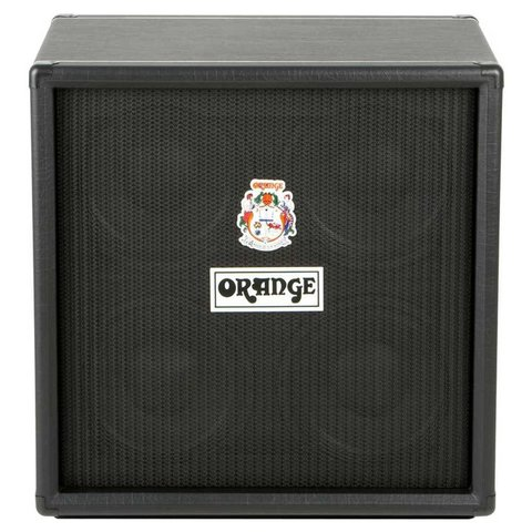 Orange OBC410 Black 4X10 Eminence 10'' speakers attenuated horn 8 ohms 600 watts