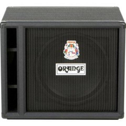 Orange OBC115 Black 1X15 w/ Eminence 15'' speaker 8 ohm 400 watts