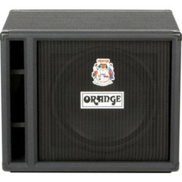 Orange Orange OBC115 Black 1X15 w/ Eminence 15'' speaker 8 ohm 400 watts