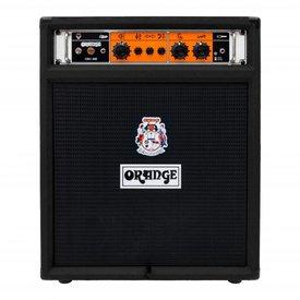 Orange Orange OB1-300C Black 300 watt combo 15'' Eminence neo speaker front ported cab