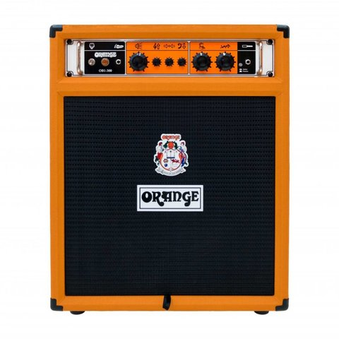 Orange OB1-300C 300 watt combo 15'' Eminence neo speaker front ported cabinet