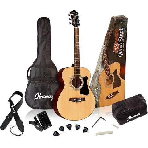 Ibanez IJVC50 Acoustic Grand Concert Package
