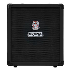 Orange Orange Crush Bass 25 Black 25 watt Active EQ Para Mid 8'' speaker CabSim