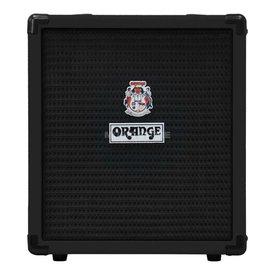 Orange Orange Crush Bass 25 Black 25 watt Active EQ Para Mid 8'' speaker CabSim