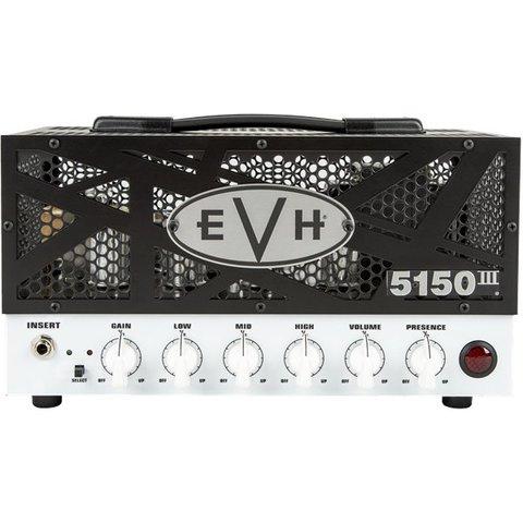 EVH 5150 III 15W LBX II Lunchbox 120V BlackFace White Grill