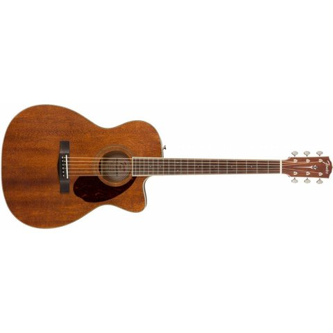 Fender PM-3 Triple-0 All Mahogany with Case, Natural