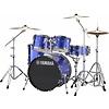 Yamaha RDP0F56WWUFB Fine Blue Rydeen 5-Pc Drum Set Hw-680W 475 Rock Cym 20'' Bd
