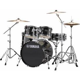 Yamaha Yamaha RDP0F56WBLG Black Glitter Rydeen 5-Pc. Drum Set w/ Hw-680W 20'' Bd Config