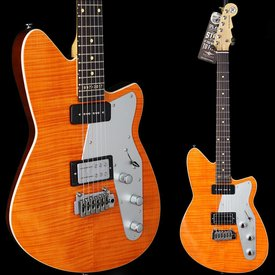 Reverend Reverend Double Agent W 20th Anniversary Rock Orange Flame Maple